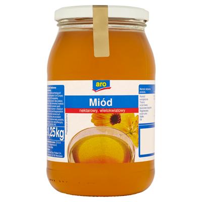 Aro Miod nektarowy wielokwiatowy 1,25 kg