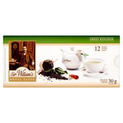 Sir William's Royal Taste Green Kingdom Tee 30 g (12 Beutel)
