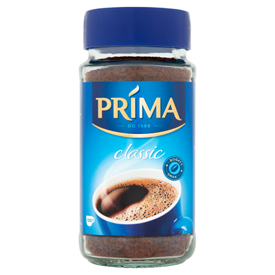 Prima Classic löslicher, agglomerierter Kaffee 180 g