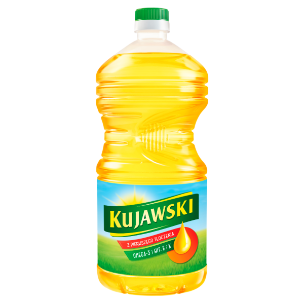 Kujawski Natives Rapsöl extra, kalt gefiltert 3 l