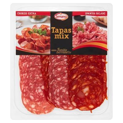 Serrano Tapas mix Schweinswurst 125 g