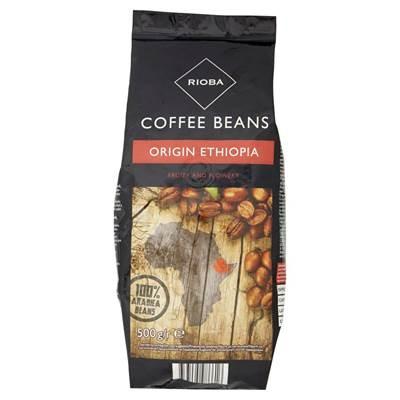 Rioba Origin Ethiopia Gerösteter Kaffee 500 g