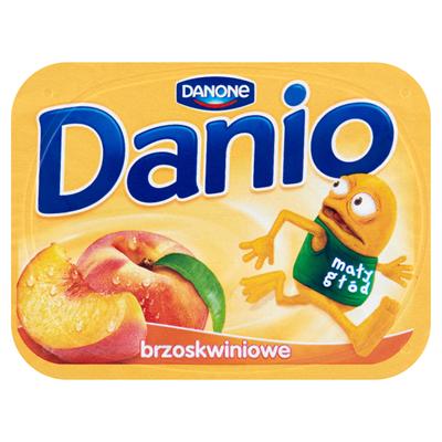 Danone Danio Homogenisierter Pfirsichkäse 140 g 16 Stück