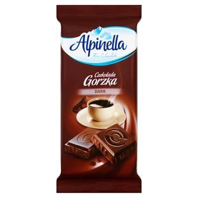 Alpinella Bitterschokolade 90 g