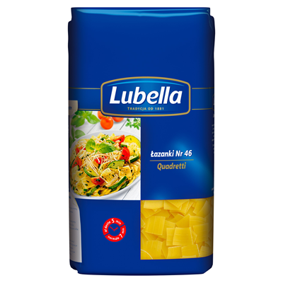 Nudeln Lazanki Lubella 500g 8 Stück