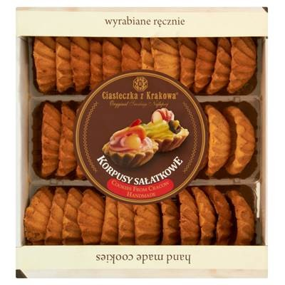 Kekse aus Krakau, trockene Salz schalen 500 g