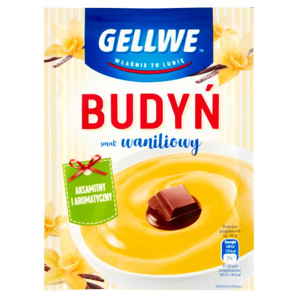Gellwe Pudding mit Vanillegeschmack 40 g