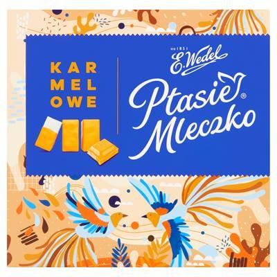 Pralinen Ptasie Mleczko Karamell E. Wedel 380 G