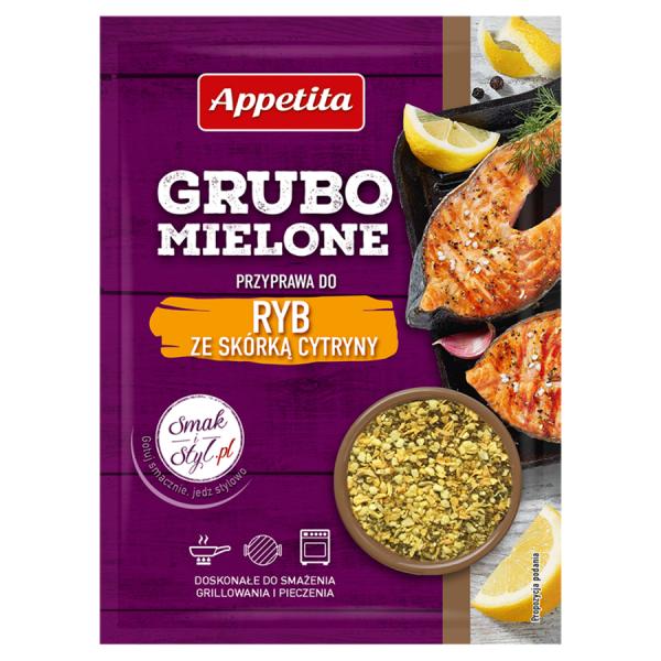 Appetita Grubo mielone Gewürzmischung für Fisch mit Zitronenschale 30 g