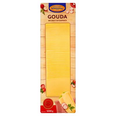 Wloszczowa Gouda-Käse in Scheiben 1 kg