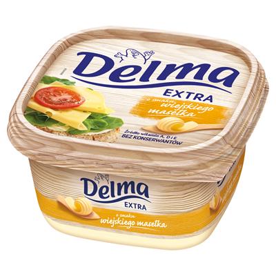 Delma Extra aromatisierte Landbutter Margarine 450 g