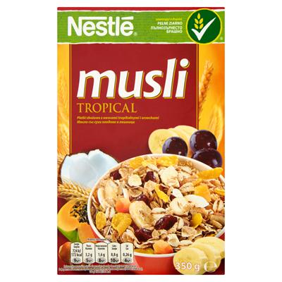 Nestlé Musli Tropical Getreideflocken mit tropischen Früchten und Nüssen 350 g