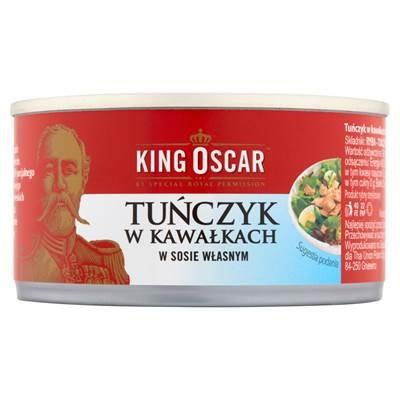 King Oscar Thunfisch in Stücken und in hausgemachter Sauce 170 g 6 Stück