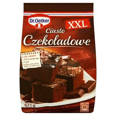 Dr. Oetker CSchokoladenkuchen Pulver XXL 671 g