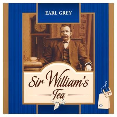 Sir William's Earl Grey Tee 100 g (50 Beutel)