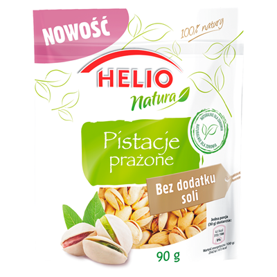Helio Natura Geröstete Pistazien ohne Salzzusatz 90 g