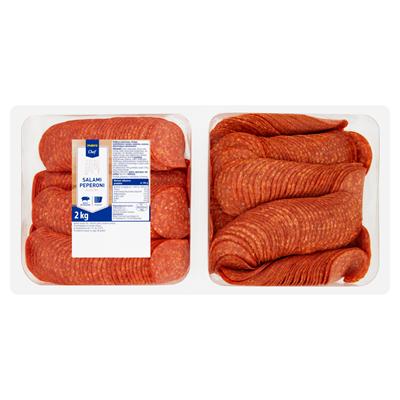 Makro Chef Salami Peperoni in Scheiben 2 kg