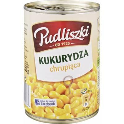 Gemüsemais Pudliszki 400 g 6 stück