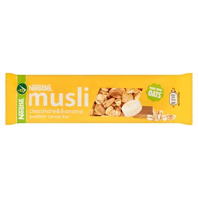 Nestlé Musli Schokolade & Bananen Cerealien Riegel 35 g