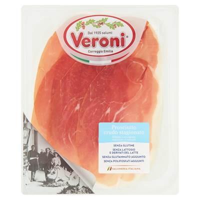 Veroni Prosciutto Crudo Stagionato Schweineschinken 80 g