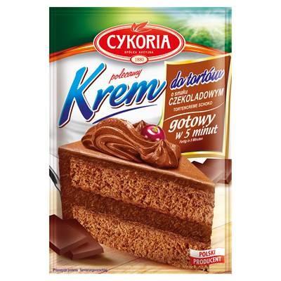Cykoria Kuchencreme mit Schokoladengeschmack 100 g 5 Stück