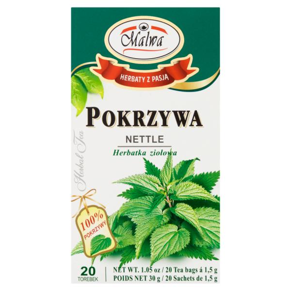 Malwa Herbatka ziołowa pokrzywa 30 g (20 x 1,5 g)