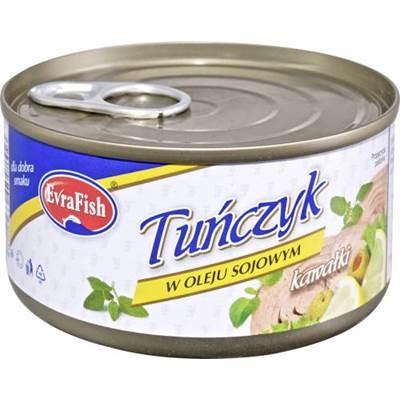 Evra Thunfisch in Öl 170 g 6 Stück