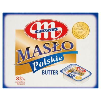 Mlekovita Polnische Butter extra 10 g 45 Stück