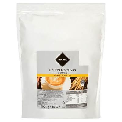 Rioba Vanille-Cappuccino - Kaffeepulver 1000 g