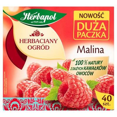 Herbapol Tea Garden Frucht- und Kräutertee Himbeere 108 g (40 x 2,7 g)