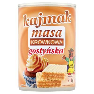 SM Gostyn Kajmak Milch konzentriert mit Zucker, gekocht 510 g