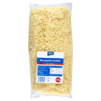 Aro Mozzarella Stueck Kaese halbfett 2 kg