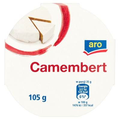 Aro Camembert Käse 105 g 4 Stück
