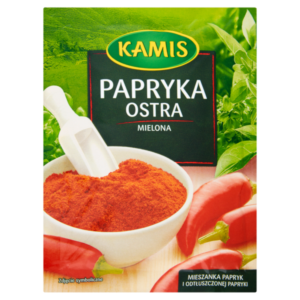 Kamis Scharfe Paprika gemahlen 20 g