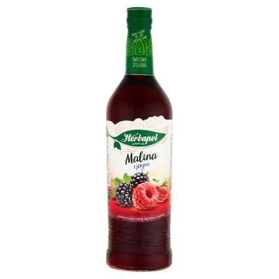 Fruchtsirup Himbeere und Brombeere Herbapol 680ML
