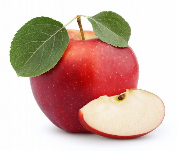 Apfel Saison rot 4 Stück