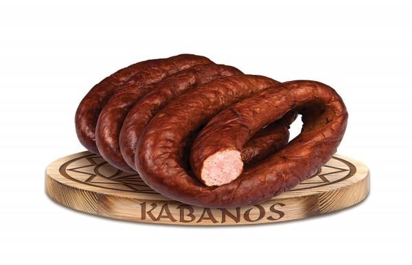 Kabanos Schweinefleischwurst mit Kalbfleisch 800G
