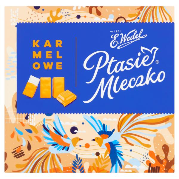 E. Wedel Ptasie Mleczko Karamell 380 g