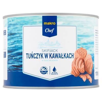 Thunfisch in Stücken und in hausgemachter Sauce 1705 g