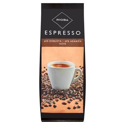 Rioba Espresso geröstete Kaffeebohnen bronze 1 kg