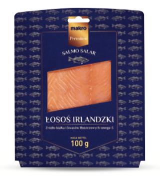 Makro Premium Irischer Lachs 100 g