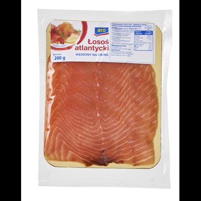 Aro kaltgeräucherter Lachs 200 g