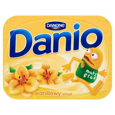 Danone Danio Homogenisierter Käse mit Vanillegeschmack 140 g 16 Stück
