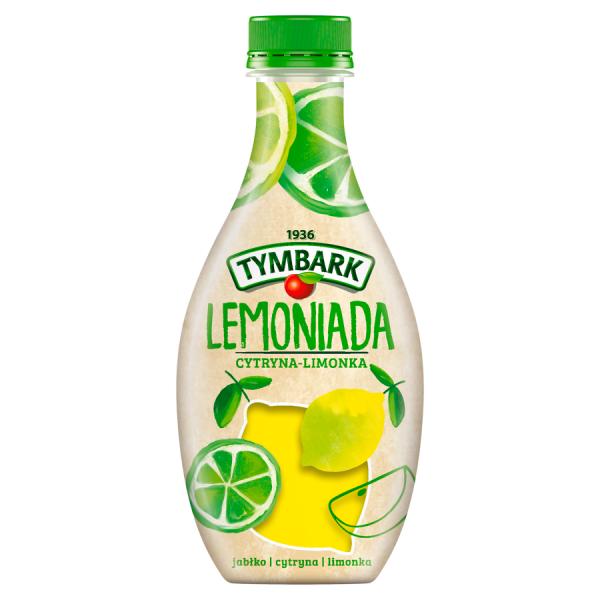 Tymbark Limonade aus Zitrone und Limette 400 ml
