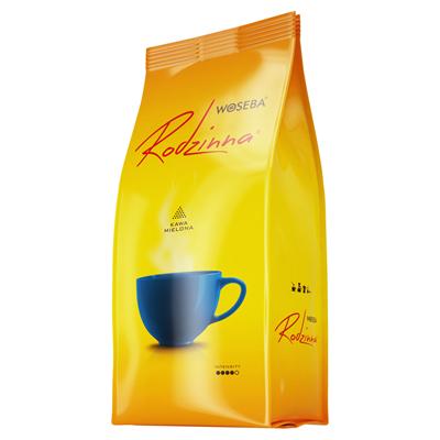 Woseba Rodzinna gerösteter gemahlener Kaffee 450 g