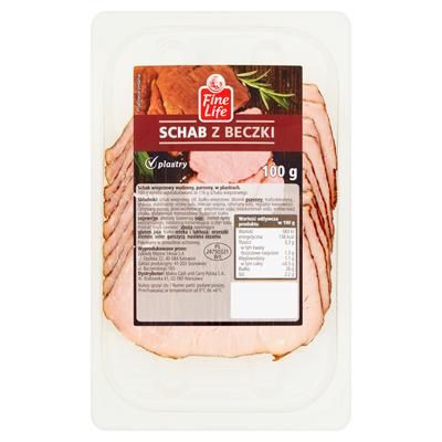 Fine Life Schweinsrücken aus dem Fass in Scheiben 100 g