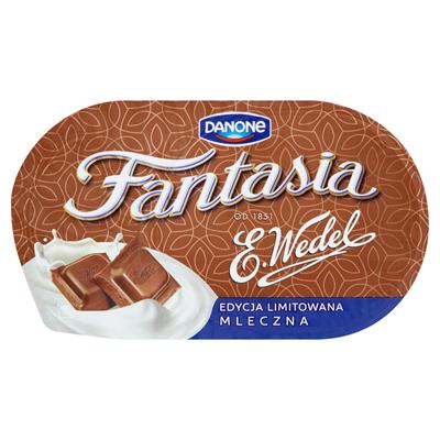 Danone Fantasia Creme Joghurt mit Milchschokoladenstücken 104 g 12 Stück