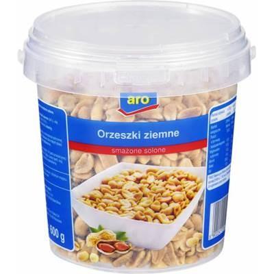 Aro Erdnüsse, gebraten und gesalzen 600 g