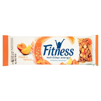Nestlé Fitness Pfirsich und Aprikose Cerealien Riegel 23,5 g
