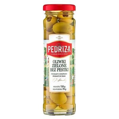 La Pedriza Grüne Oliven ohne Steine 150 g